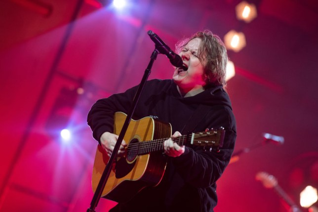 Lewis Capaldi performs at McDonald's I'm Lovin' It Live Show