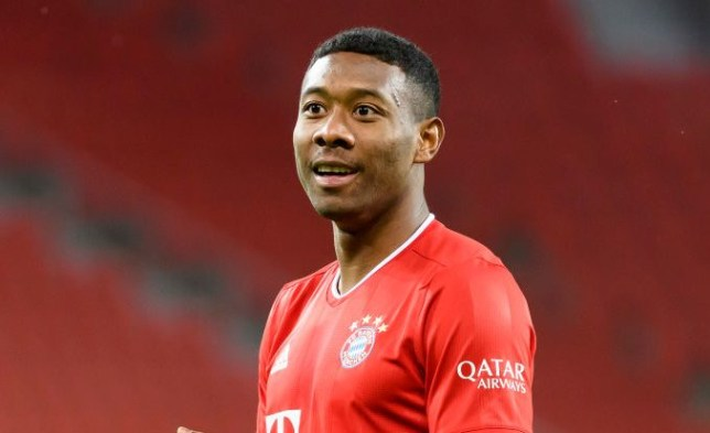 David Alaba is set to leave Bayern Munich at the end of the season