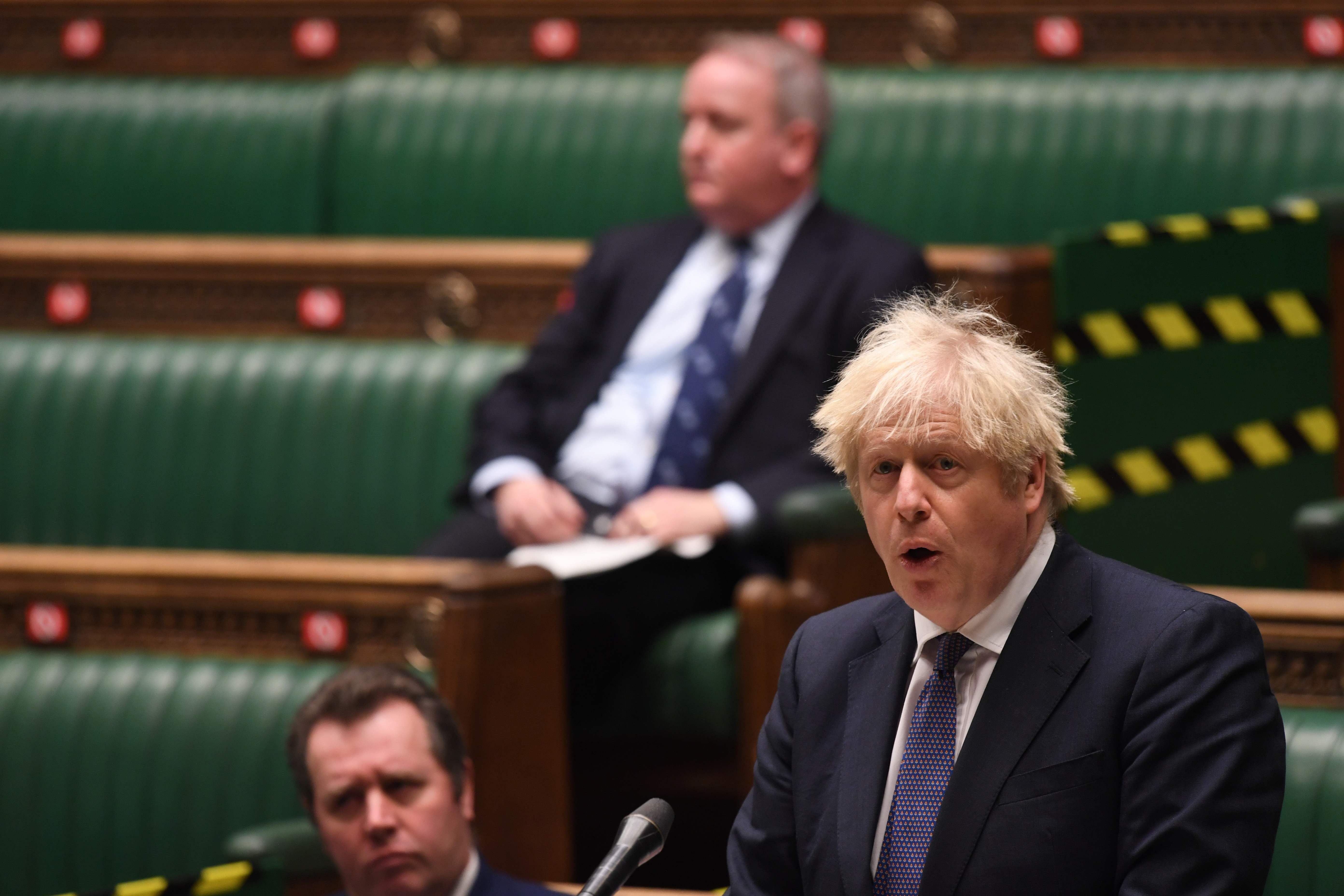 <p>Mr Johnson warned MPs during the commons debate that it would take time to ease lockdown restrictions.</p>