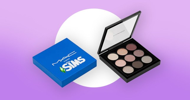The Sims palette from Mac
