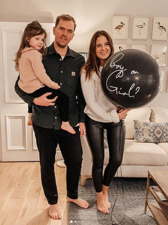Binky Felstead reveals baby's sex with daughter India and fiance Max Darnton