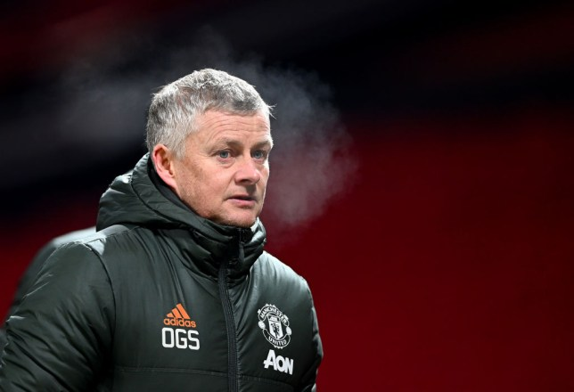 Ole Gunnar Solskjaer the manager / head coach of Manchester United during the Premier League match between Manchester United and Wolverhampton Wanderers at Old Trafford on December 29, 2020 in Manchester, United Kingdom. The match will be played without fans, behind closed doors as a Covid-19 precaution.