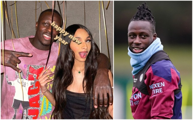 Man City defender Benjamin Mendy hosted a New Year's Eve party at his home
