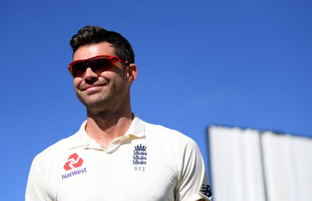 James Anderson took three wickets on the first day of the second Test against Sri Lanka