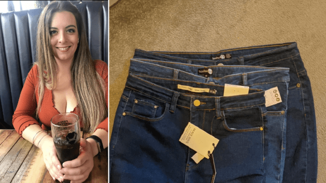 Roxanne, and the three pairs of jeans