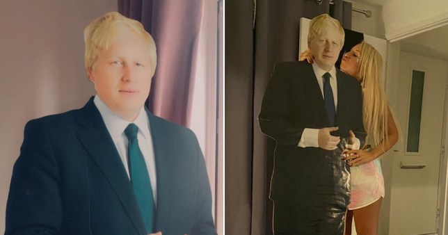 Woman wakes up after getting drunk to find she's ordered a cardboard cut-out of Boris Johnson