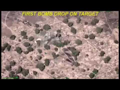 VIDEO: How We Dropped Bombs on Boko Haram Terrorists at Isamari- Nigerian Military