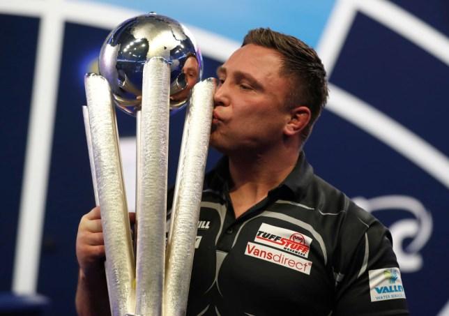 Gerwyn Price won his first PDC World Darts Championship title