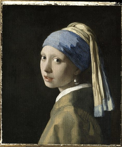 Johannes Vermeer's 'Girl with the Pearl Earring' is one of the most famous paintings in the world