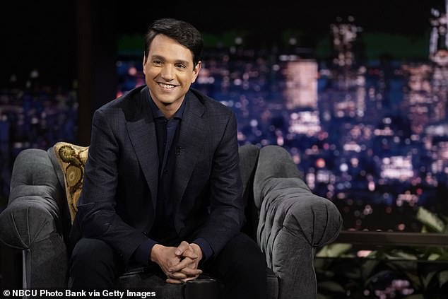 Candid:Season three of his show Cobra Kai dropped on Netflix January 1, 2021. And just seven days after the season's release, Ralph Macchio chatted about who helps him have balance as a Hollywood actor and a family man - his wife Phyllis Fierro; seen January 5, 2021 on The Tonight Show Starring Jimmy Fallon