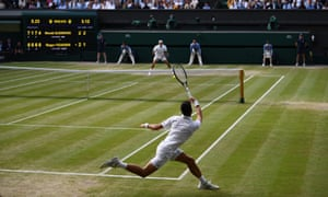 Novak Djokovic (near) survived two match points against Roger Federer in the final set of the 2019 Wimbledon final.