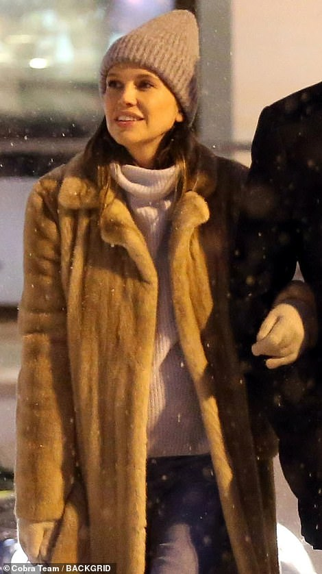 Dasha Zhukova has been seen for the first time since it was reported she is expecting her first child with her billionaire shipping heir husband Stavros Niarchos