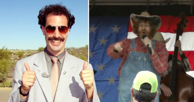 Sacha Baron Cohen on challenges of filming Borat 2