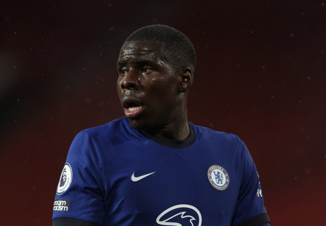 Kurt Zouma and Chelsea's defence struggled to get to grips with Manchester City