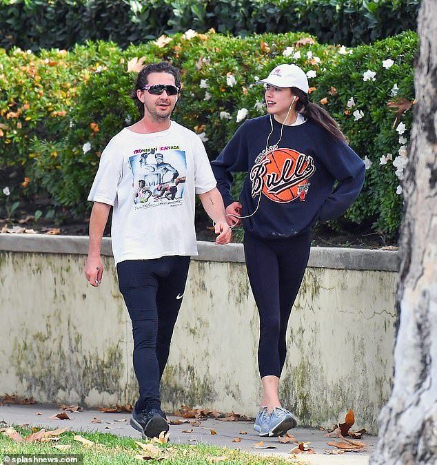 Done!Shia LaBeouf and Margaret Qualley have reportedly split. The actor, 34, and the actress, 26, 'broke up on Saturday,' People reported. 'They're just in different places in their lives;' seen on December 23, 2020 enjoying a jog
