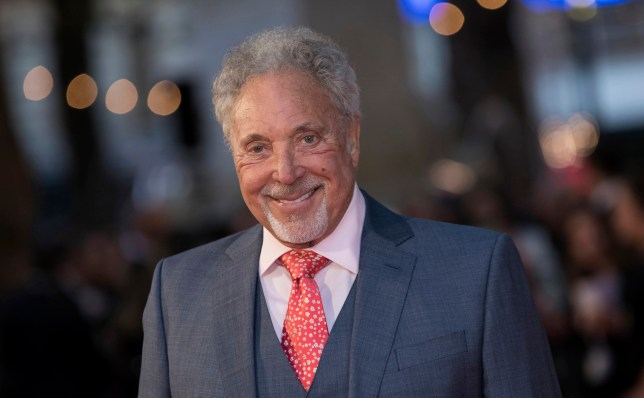 Tom Jones at A Star Is Born premiere in London