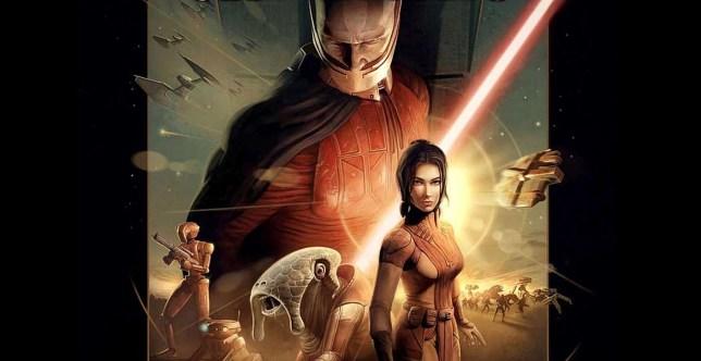 Star Wars: Knights Of The Old Republic key art