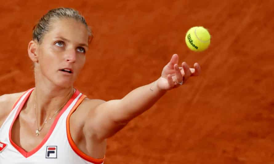 Karolina Pliskova, has said 'there is no room for complaining' while she is able to travel and compete.