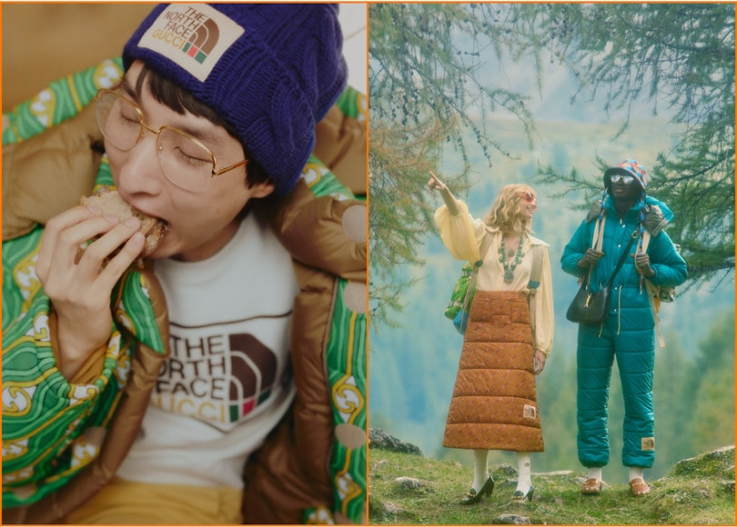 The North Face x Gucci Collection: avatar items now available in Pokémon GO