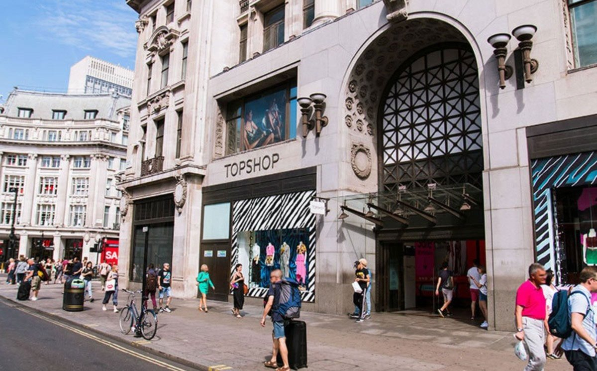 Topshop Oxford Circus flagship put up for sale