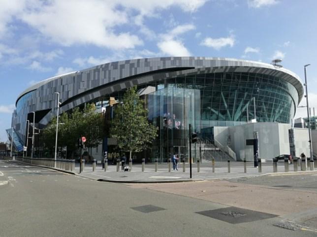 Tottenham hotspur stadium Spurs (hotspur) football team on Tottenham high road, stadium completed in 2018