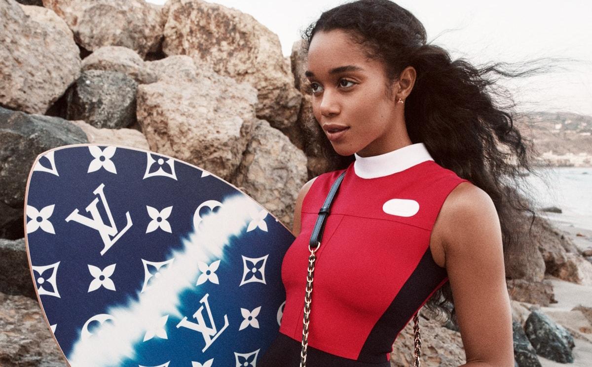 Video: Actress Laura Harrier models Louis Vuitton's Twist bag