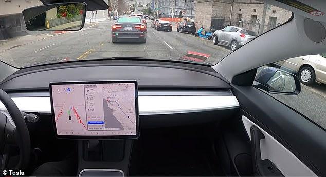 Tesla aficionadoWhole Mars Catalog used the carmaker's still-beta Full Self-Driving (FSD) tech to take a Model 3 from San Francisco to Los Angeles