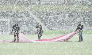 Snow at West Bromwich Albion