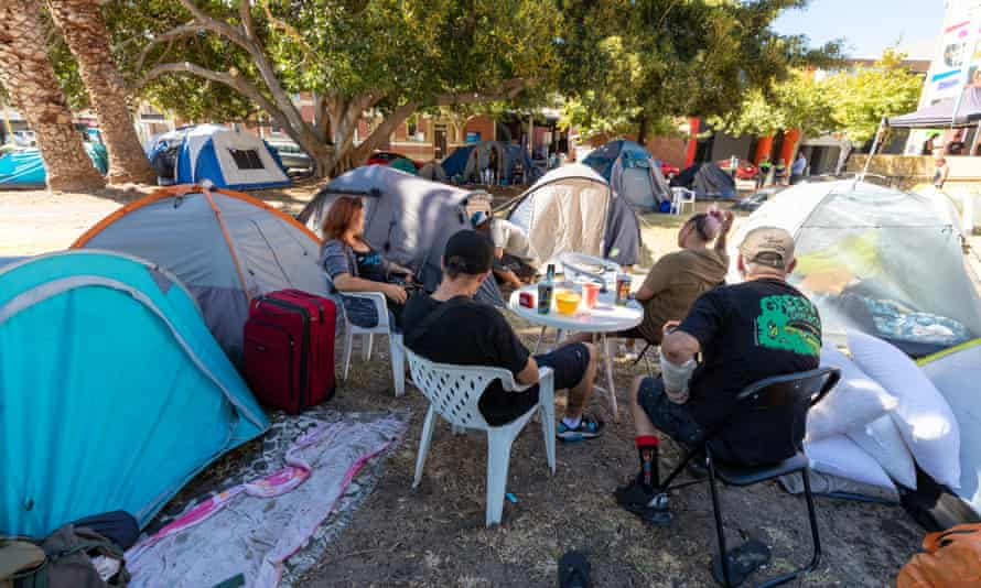 House the Homeless WA spokesman Jesse Noakes said there had been a systemic failure by the McGowan government to address the state's housing crisis