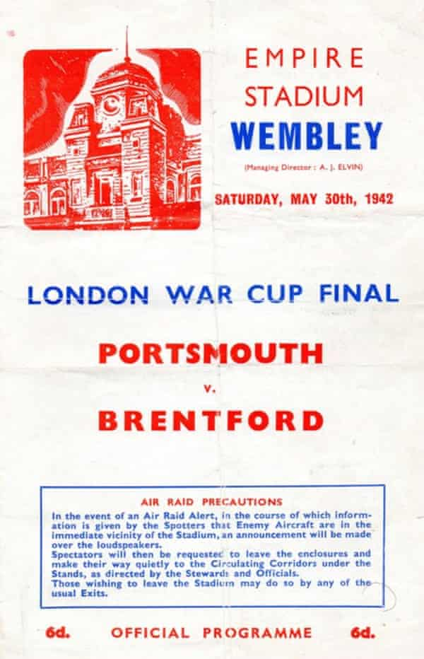 The matchday programme.