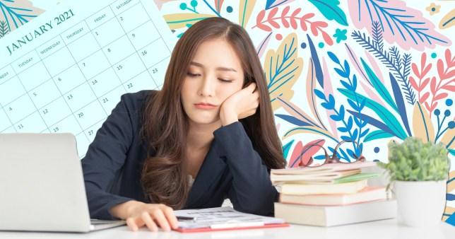 january work slump