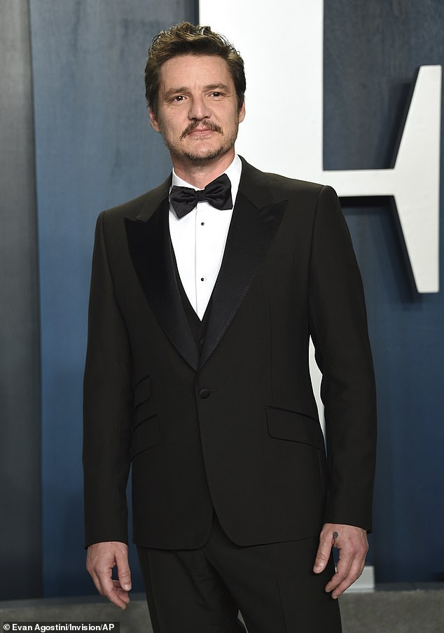 Leading man: Pedro Pascal (seen in February 2019)starred in NBC's failed Wonder Woman pilot back in 2011 and even admitted to Entertainment Weekly on Monday that he had forgotten that he was even associated with the show