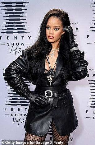 "Stunning"" Rihanna was snapped in October in LA"