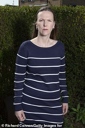 Beth Purvis, 40, a legal assistant from Essex, was meant to have a 19mm tumour removed from her right lung