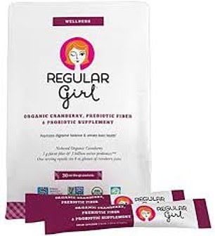 REGULAR GIRL PREBIOTIC & PROBIOTIC SUPPLEMENT
