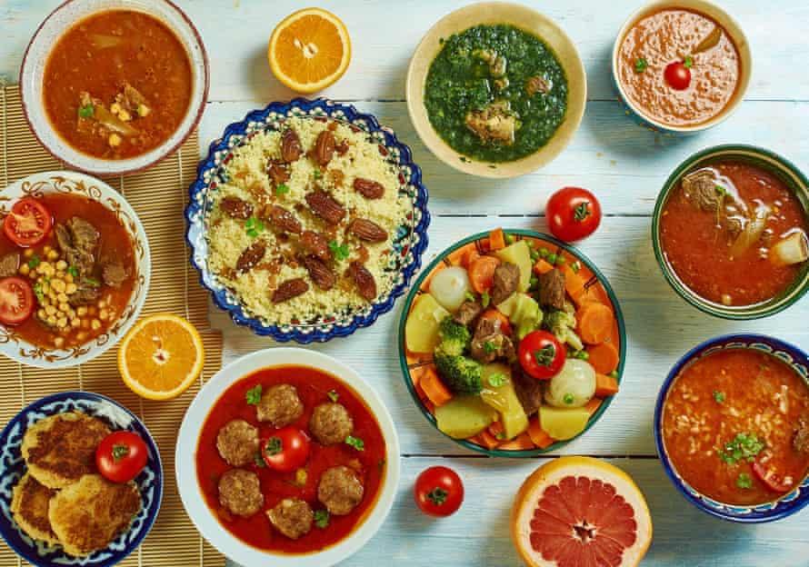 Algerian cuisine.