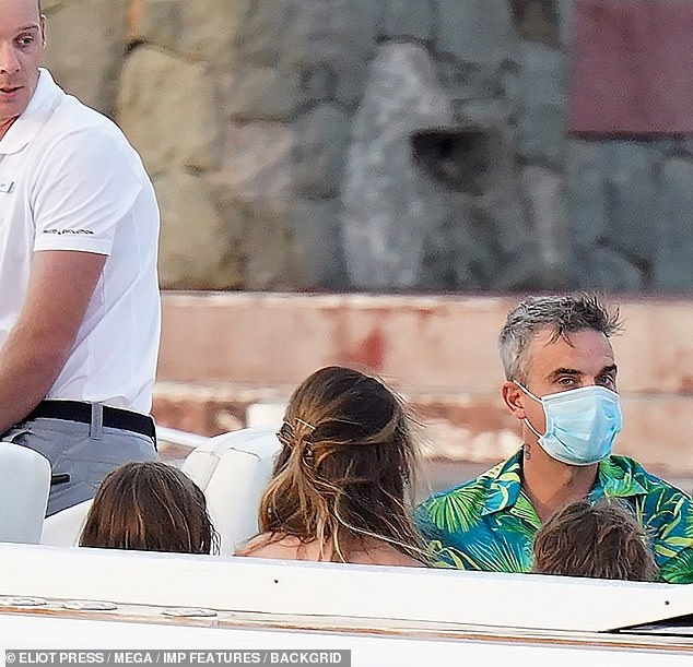Wow:It comes after Robbie reportedly earned £19.8 million in 2019, despite the fact he and Ayda left their lucrative role at The X Factor