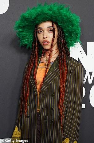 On December 11, 2020 FKA Twigs (pictured February 12, 2020 in London) filed a lawsuit against Shia, accusing the actor of 'relentless abuse,' according to People