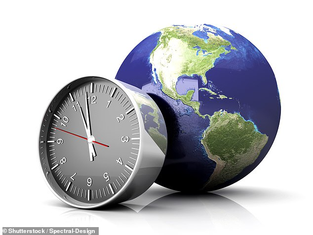 This decision to make one minute officially just 59 seconds long would return the rotation of the Earth and the precise passing of time into equilibrium. While this so-called 'negative leap second' technique has never before been done, the addition of a second has happened 27 times since the 1970s (stock image)