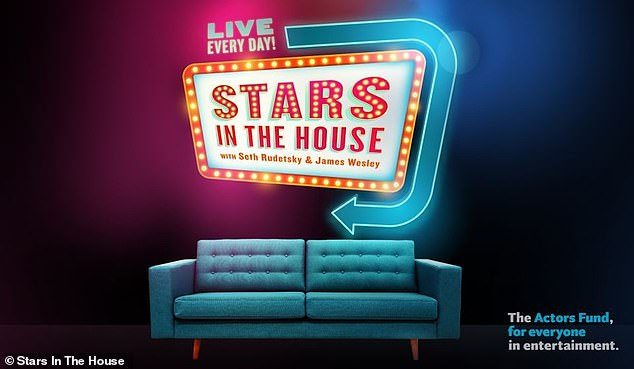 A good cause: Stars In The House has raised hundreds of thousands of dollars for various organizations who aim to help individuals in the entertainment industry who have been affected by the global pandemic