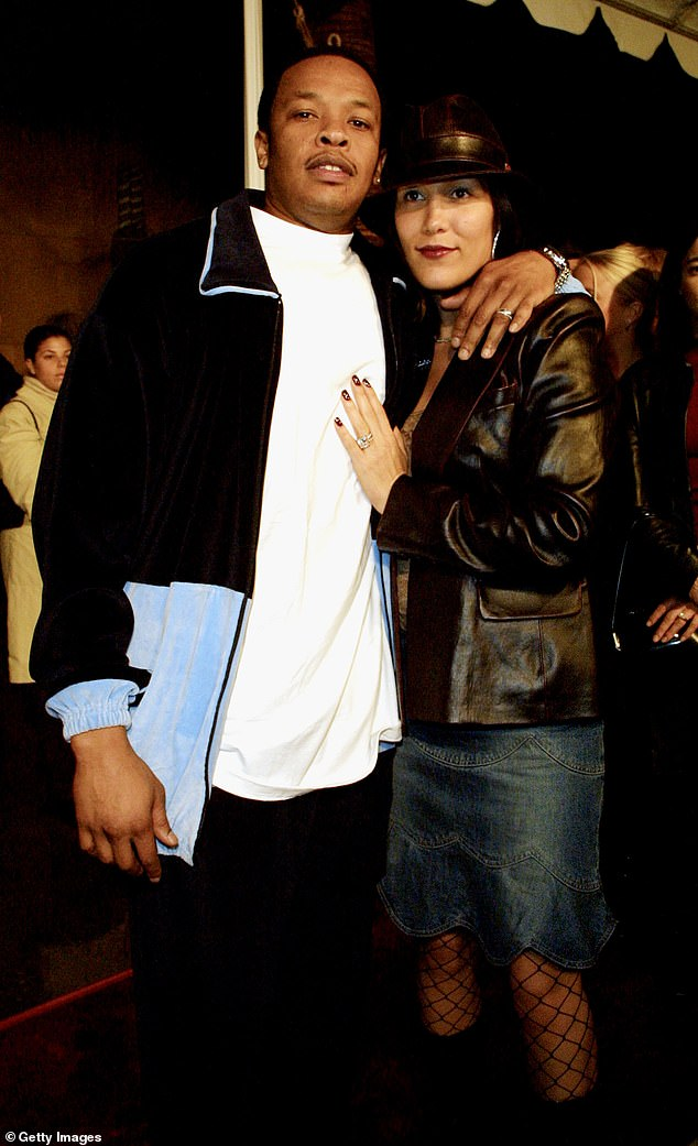 The rap producer married Young in 1996, after she was married to NBA player Sedale Threatt. She filed for divorce on the grounds of irreconcilable differences in June; seen in 2001