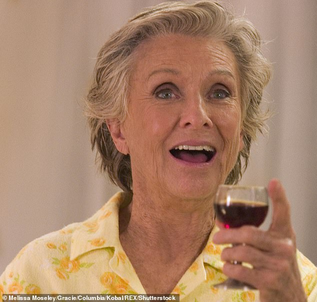 Bottoms up: She continued appearing movies into her later years as well including such comedies as Spanglish (pictured), Bad Santa and The Longest Yard