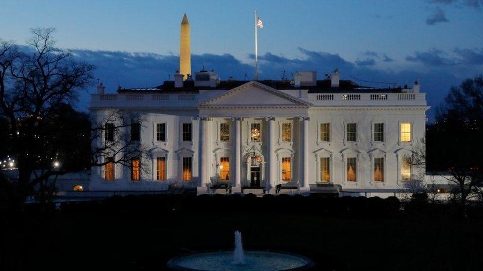 White House at dawn