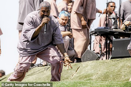 The biblical name came around the same time as the launch of Kanye's Sunday Service, in which he delivered his own religious service each Sunday at his home since the beginning of 2019