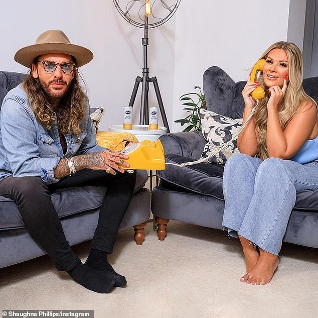 Single or not? She also took part in Celebs Go Dating over the subsequent summer [pictured with Pete Wicks]