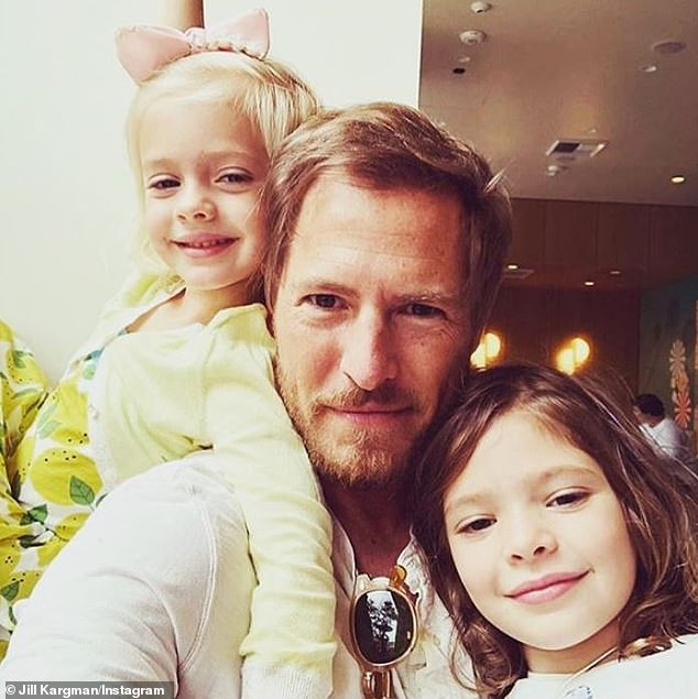 'I really did not take divorce well': Divorce was the 'last thing' Drew wanted for their six-year-old daughter Frankie (L) and eight-year-old daughter Olive (R) because she did 'not grow up with any family whatsoever' (pictured in 2018)