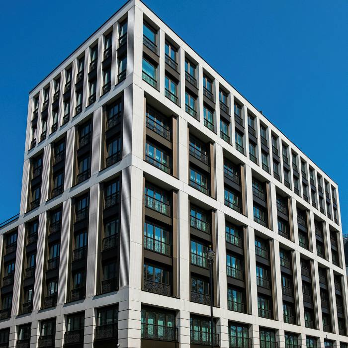 Clarges Mayfair, built 2014-17 – the Piccadilly site has a 'long history of extraordinary wealth'
