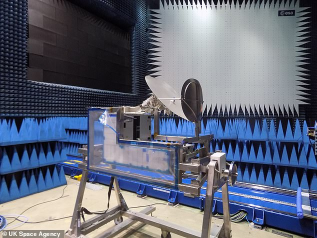The Columbus Ka-band Terminal (ColKa) will 'revolutionise scientists' ability to access the results of space-based experiments', according to the UK Space Agency