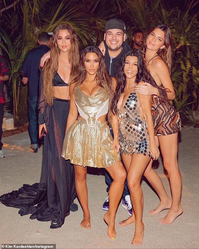She has reach:Kardashian is one of the world's most influential consumer personalities, with 300M followers across her personal and brand social media channels and a large global audience. Seen with her siblings Khloe, Rob, Kourtney and Kendall in 2020