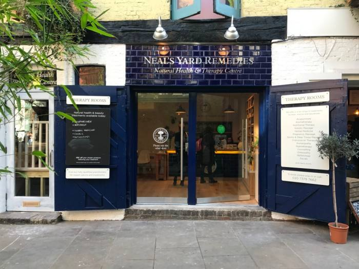 Neal's Yard Remedies Therapy Rooms, Borough Market, SE1